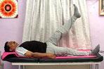 Straight Leg Raising 45 degree Excercise by Dr.Vijeyapal